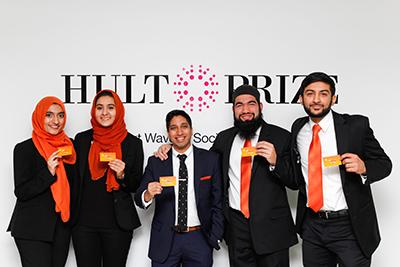 Rutgers Team Advances in Prestigious Hult Prize Challenge