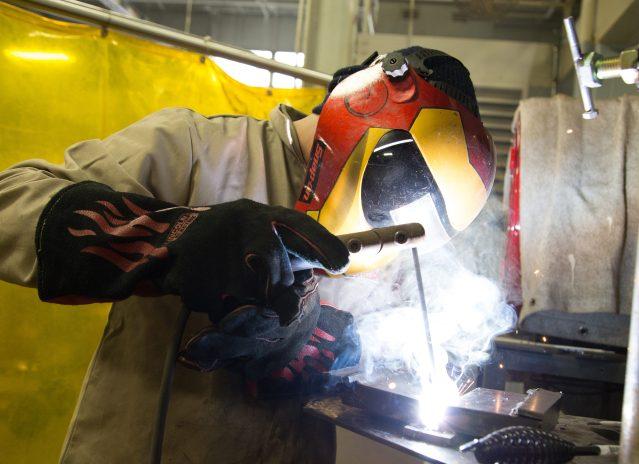brookdale community college free welding training program graduates ...